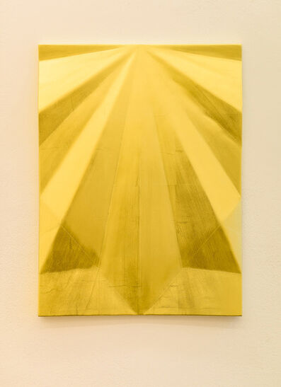 Gonzalo Lebrija, 'Unfolded gold: Concord peak', 2015