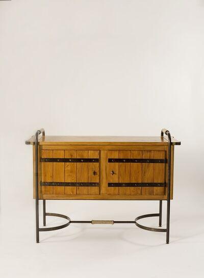 Jacques Adnet, 'Oak Cabinet', ca. 1950