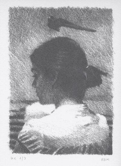 Rafel Bestard, 'Mujer con golondrina', 2015