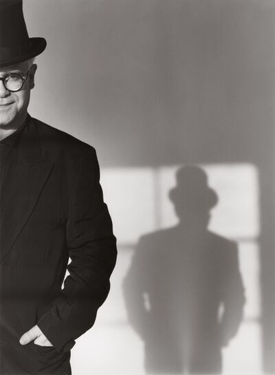 Herb Ritts, 'Elton John with Top Hat', 1989