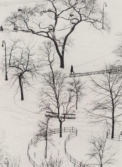 André Kertész, 'Washington Square Park, January 9', 1954