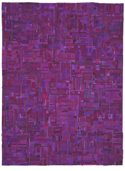 Matt Gonzalez, 'Derivations (in purple)', 2018