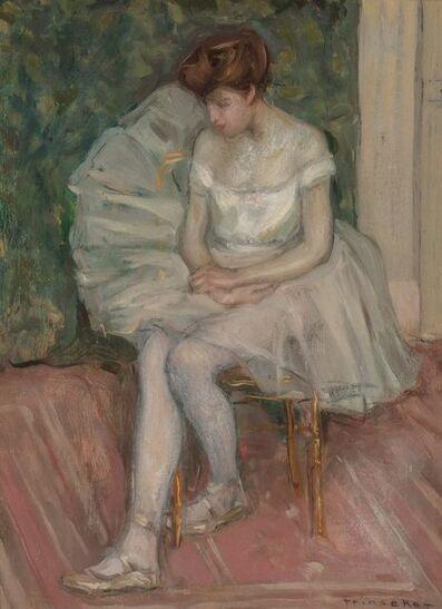 Frederick Carl Frieseke, 'The Dancer'