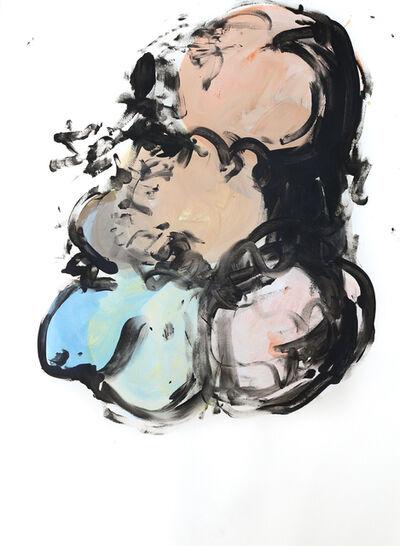 Geoffrey Hunter, 'Circles Post Circle 1', 2019