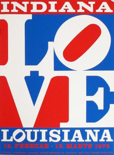 Robert Indiana, 'Indiana Louisiana LOVE', 1972