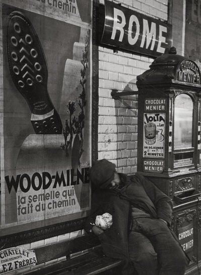 Brassaï, 'Rome Metro Station', 1933-1934