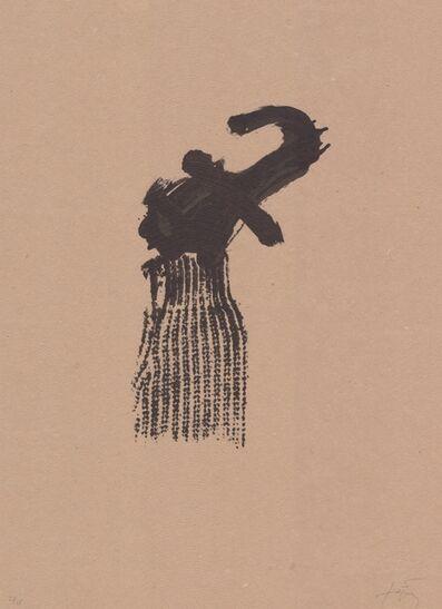 Antoni Tàpies, 'Llambrec material X', 1970-1980