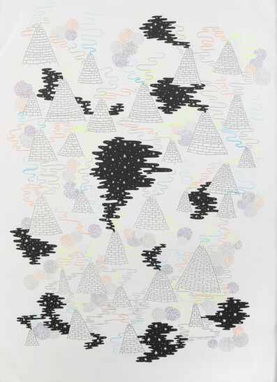 Mike Perry, 'Pyramids', 2009