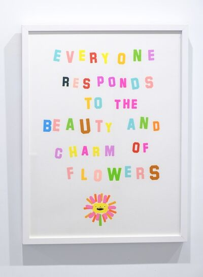"Katie Kimmel, '""Respond to the Flower""', 2019"