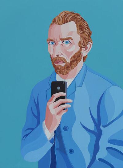 Giuseppe Veneziano, 'Selfie of Vincent', 2019