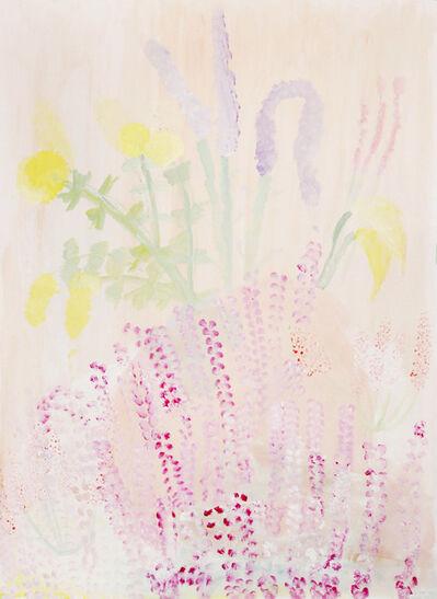Johanna Tagada, 'Rose Et Jaune 01', 2015