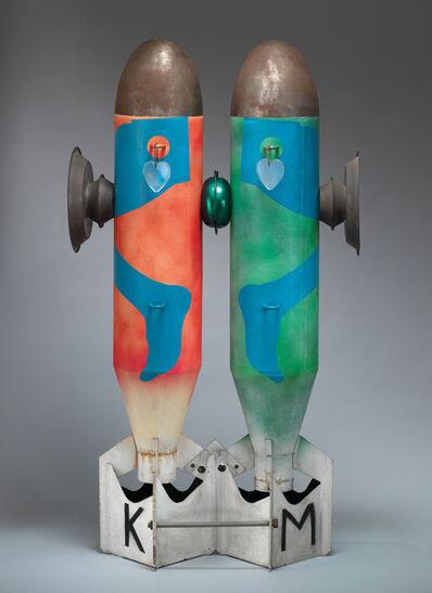 Kiki Kogelnik, 'Bombs in Love', 1962