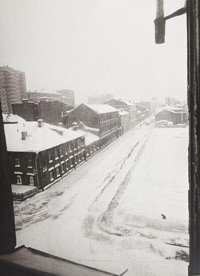 Leonid Nikolaevich Lazarev, 'Snowy urban landscape', 1961