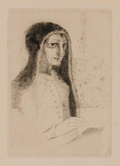 Odilon Redon, 'LE LIVRE OU SAINTE THÉRÈSE (MELLERIO 24)', 1892