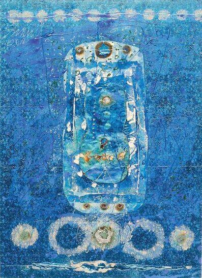 """Sunil Das, 'Collage Series IX, Foil by Artist Sunil Das """"In Stock""""', 2010"""