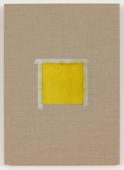 Saúl Sánchez, 'One after another (Square with YELLOW Paint)', 2015