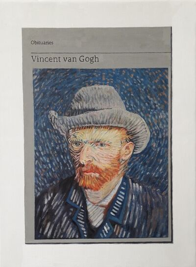 Hugh Mendes, 'Obituary: Vincent can Gogh ', 2019