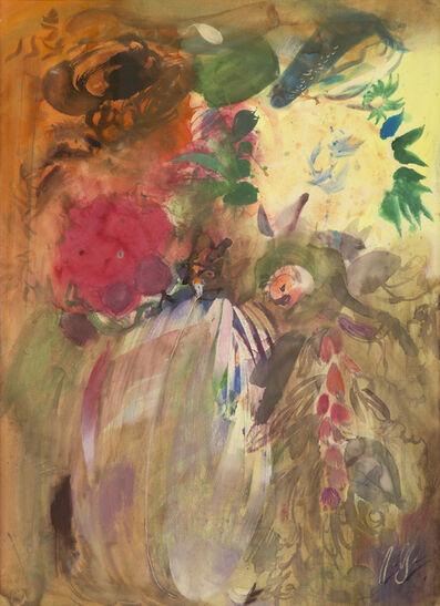 Irakli Parjiani, 'Flowers', ca. 1980