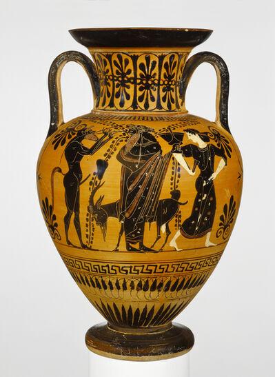 'Black-Figure Neck Amphora', ca. 510 BCE
