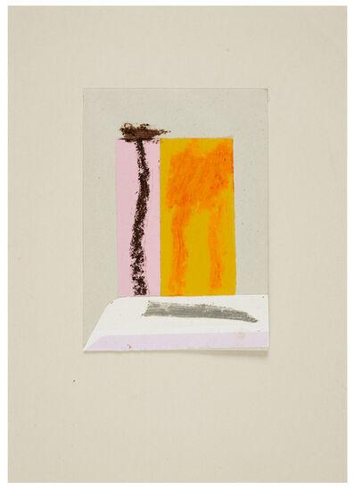 Karl Bohrmann, 'Landschaft mit Palme und zwei anderen Bäumen (Landscape with palm tree and two other trees)', 1991