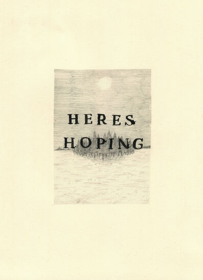 Keaton Henson, 'Here's Hoping', 2016
