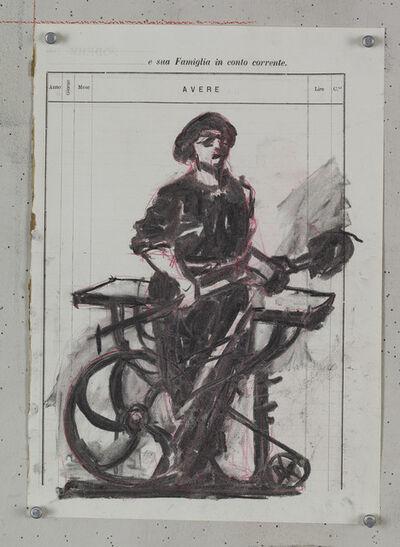 William Kentridge, 'Drawing for Processione di Riparazionisti (10)', 2017