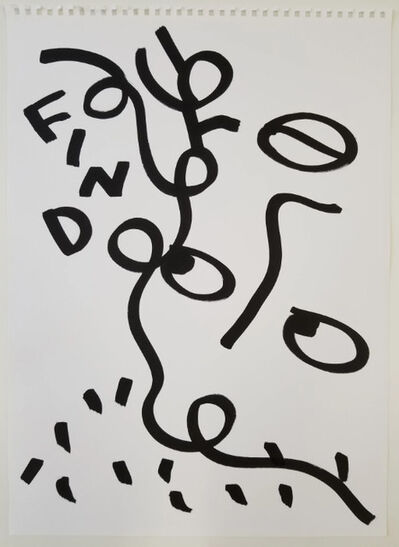Shantell Martin, 'Find', 2017