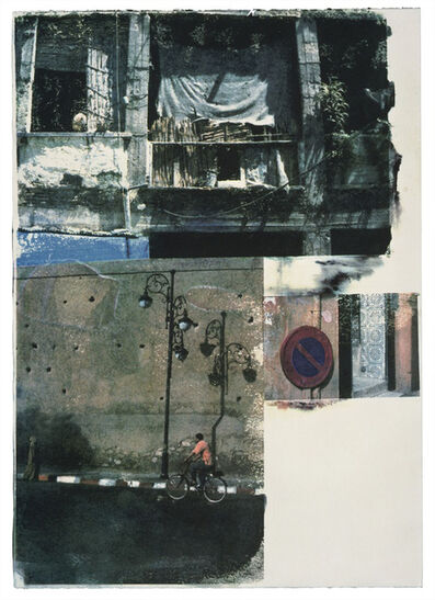 Robert Rauschenberg, 'Winner Spinner, Printer's Proof', 2000