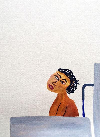 Sara Zielinski, 'Men in Baths 5', 2015
