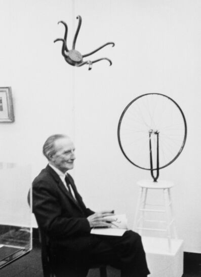 Umbo, 'Marcel Duchamp meme (from Re-object Mythos)', 1965-2007