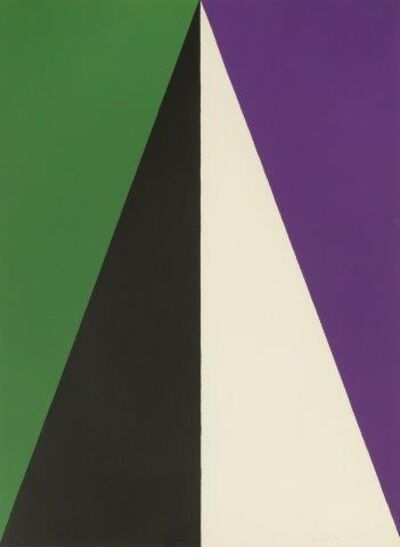 Leon Polk Smith, 'Tamarind E', 1968