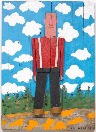 Red Grooms, 'Lumberjack', 1977
