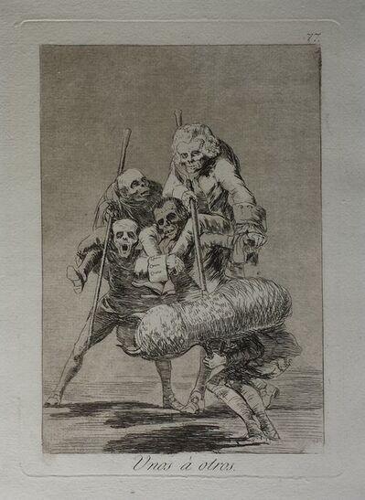 Francisco de Goya, 'Unos à otros', 1799