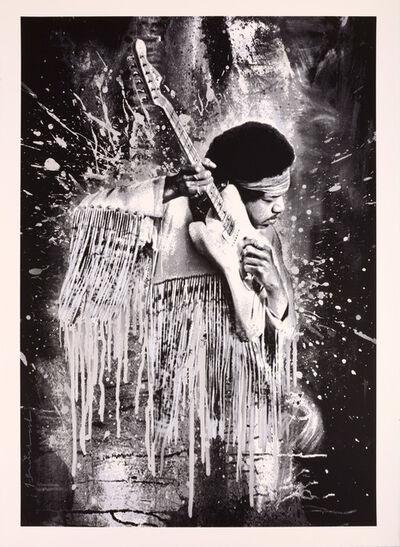 Mr. Brainwash, 'Jimi Hendrix', 2015