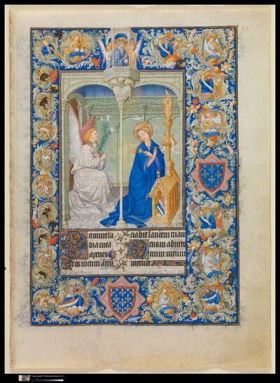 Limbourg Brothers, 'The Belles Heures of Jean de France, duc de Berry', ca. 1405–1409