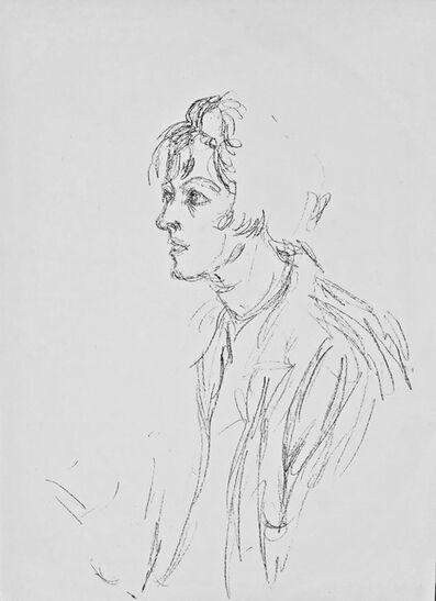 Alberto Giacometti, 'Lithographe', 1964