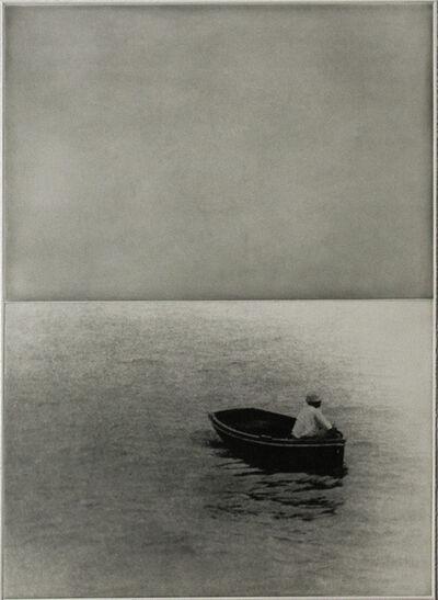 John Baldessari, 'Boat (With Standing Figure)', 1986