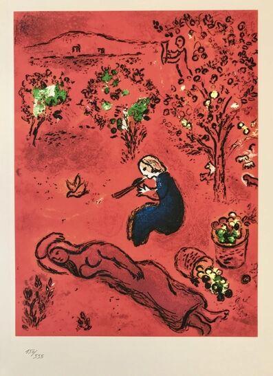 Marc Chagall, 'A midi l'été', 1985