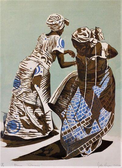 John Biggers, 'GHAANA DANCERS', 1965