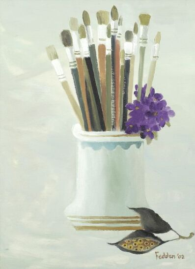 Mary Fedden, 'My New Brushes', 2002