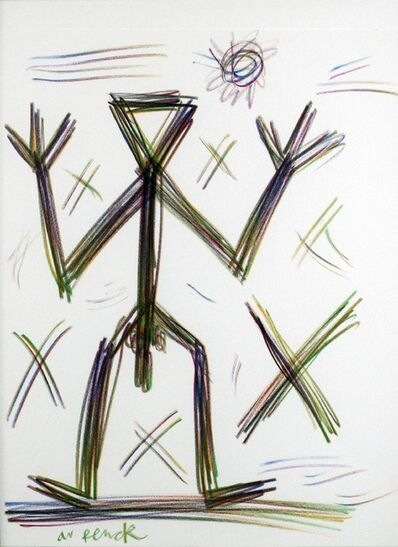 A.R. Penck, 'Figuration (Untitled)', 1990