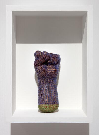 Esperanza Cortés, 'Puño Azul/ Blue Fist', 2014