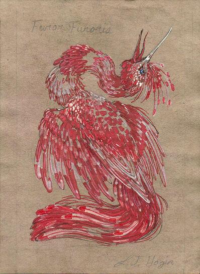 Laurie Hogin, 'Emblematic Cranes in Frenzy II, Furor Furoris', 2016