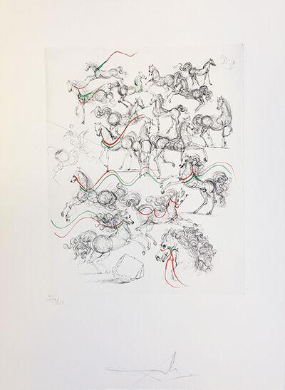 Salvador Dalí, 'Petite Horses', 1967
