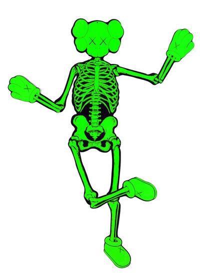 KAWS, 'Green Companion Skeleton', 2007