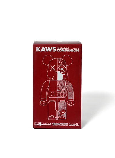 KAWS, 'BEARBRICK DISSECTED COMPANION 400 % (Brown)', 2008