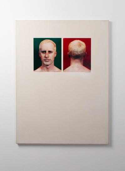Billy Apple, 'Self-Portrait (Apple Sees Red on Green) ', 1962-1963