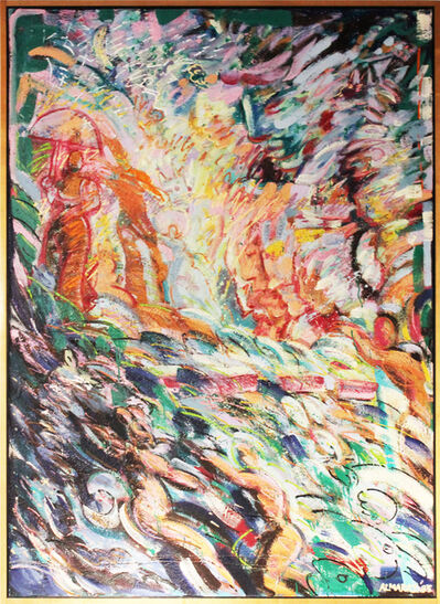 Carlos Almaraz, 'Promenade in Green', 1985