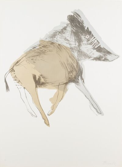 Elisabeth Frink, 'Wild Boar, from Images', 1967