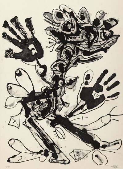 Antonio Saura, 'Aurelia, from the Novisaurias series', 1969